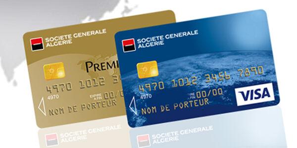 Vos Cartes Bancaires Societe Generale Algerie